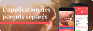 L'application des parents séparés